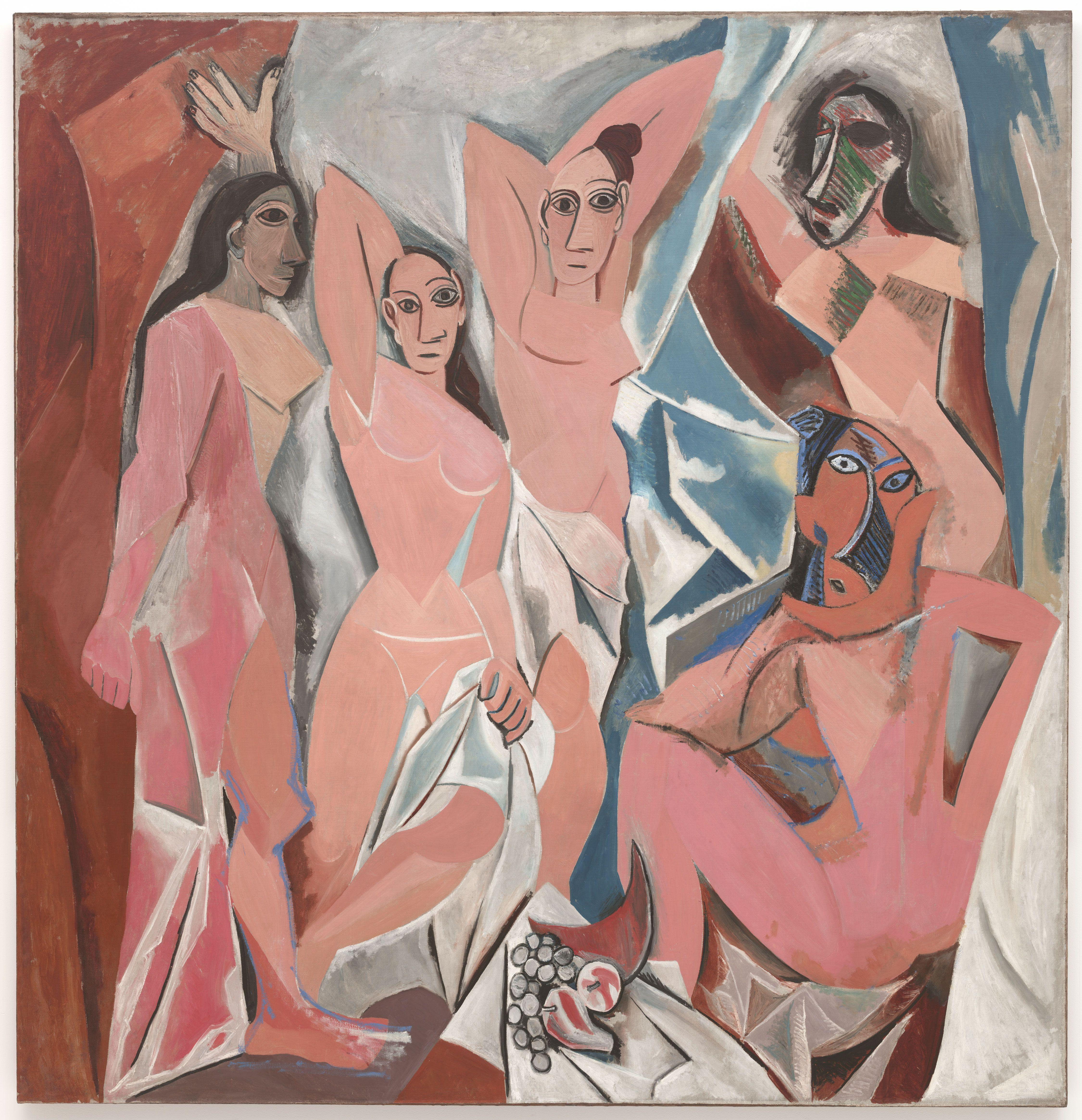Pablo Picasso | Les demoiselles d'Avignon |1907 | © Museum of Modern Art, New York City